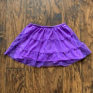 Disney skirt with built in shorts, size 6/6X